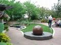 largest black granite sphere fountain  4