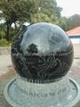 granite memorial ball,sphere monument,globe monument 3