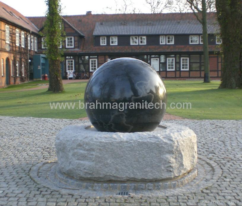granite memorial ball,sphere monument,globe monument 4