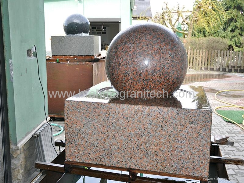 polished stone ball,polished granite globes,granite spheres  3
