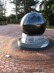 polished stone ball,polished granite globes,granite spheres