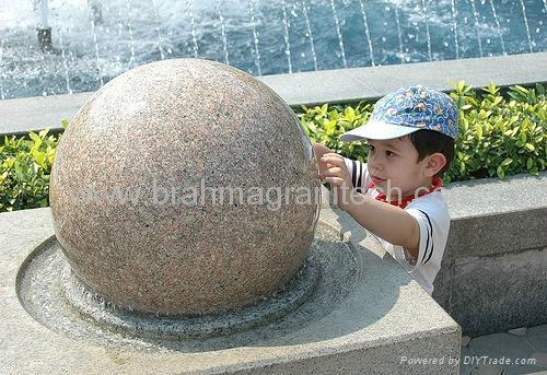 Residential Stone fountain features 1