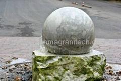 Floating stone spheres ,Floating granite ball,granite globe