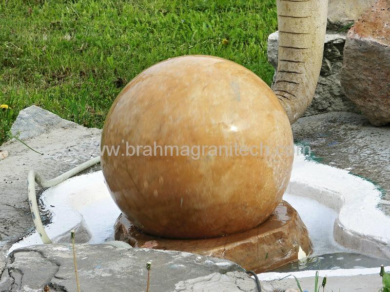 limestone ball fountain.sphere fountain,ball fountain 1