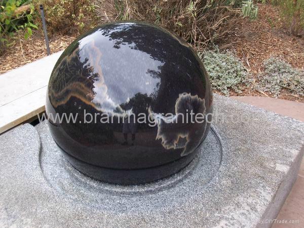 large stone ball fountain,giant ball sphere globe fountain  1