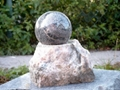 large stone ball fountain,giant ball sphere globe fountain  4