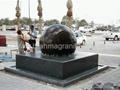 large stone ball fountain,giant ball sphere globe fountain  5
