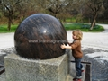 SPHERE OUTDOOR FOUNTAIN,FLOATING GRANITE GLOBE 4
