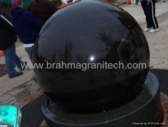 sphere water fountain,sphere water features,globe water features