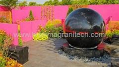 NATURAL STONE BALL SUPPLIER, Stone sphere fountain, Globe Fountain