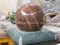 rotating ball fountain
