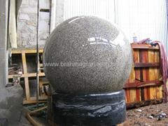 WATER PRESSURE STONE BALL