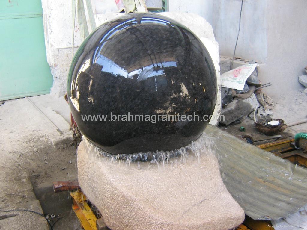 BLACK GALAXY BALL SPHERE FOUNTAIN 1