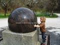 Garden stone balls,garden water features,garden ornaments 5