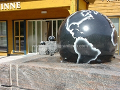 Garden stone balls,garden water features,garden ornaments