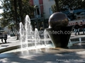 ROCK FOUNTAIN SPHERE,rock fountain,rock water feature 1
