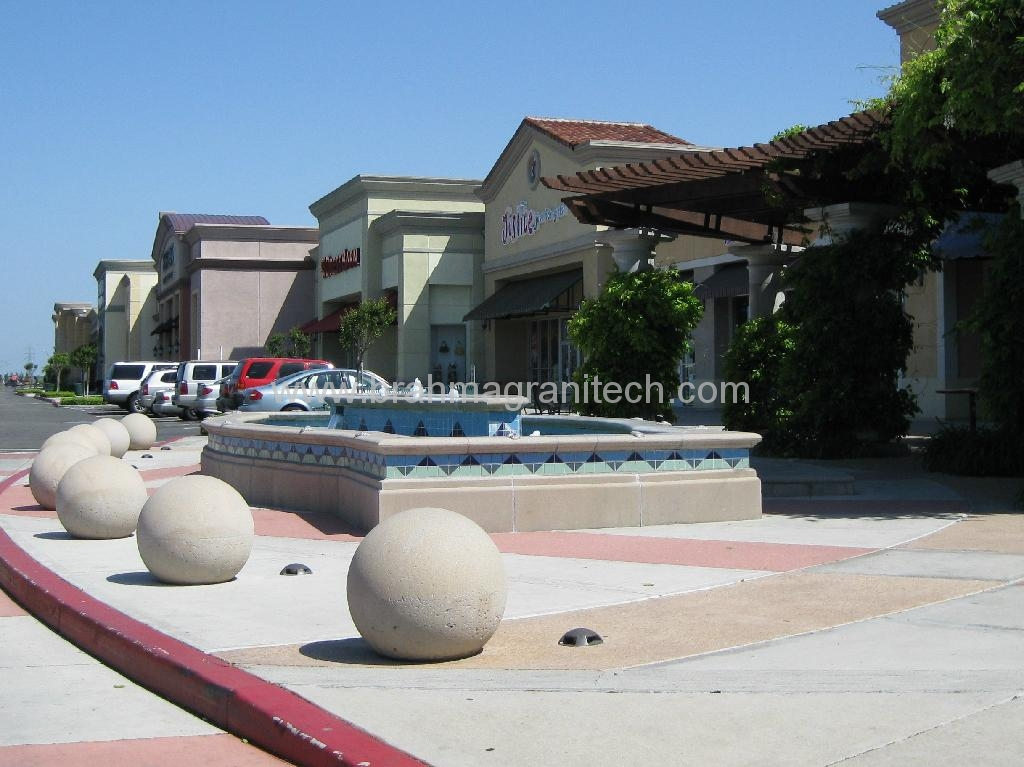 water fountain spheres,water feature ball,water globe fountains 4