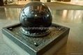 Fountain stone globes,floating globes,rolling spheres 2