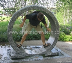 floating disc fountain,floating fountains,rolling spinning fountains