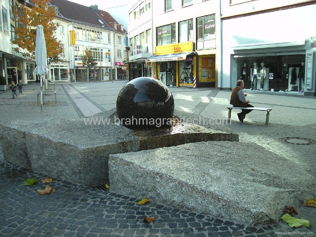 natural stone balls,granite stone spheres,granite spheres 5