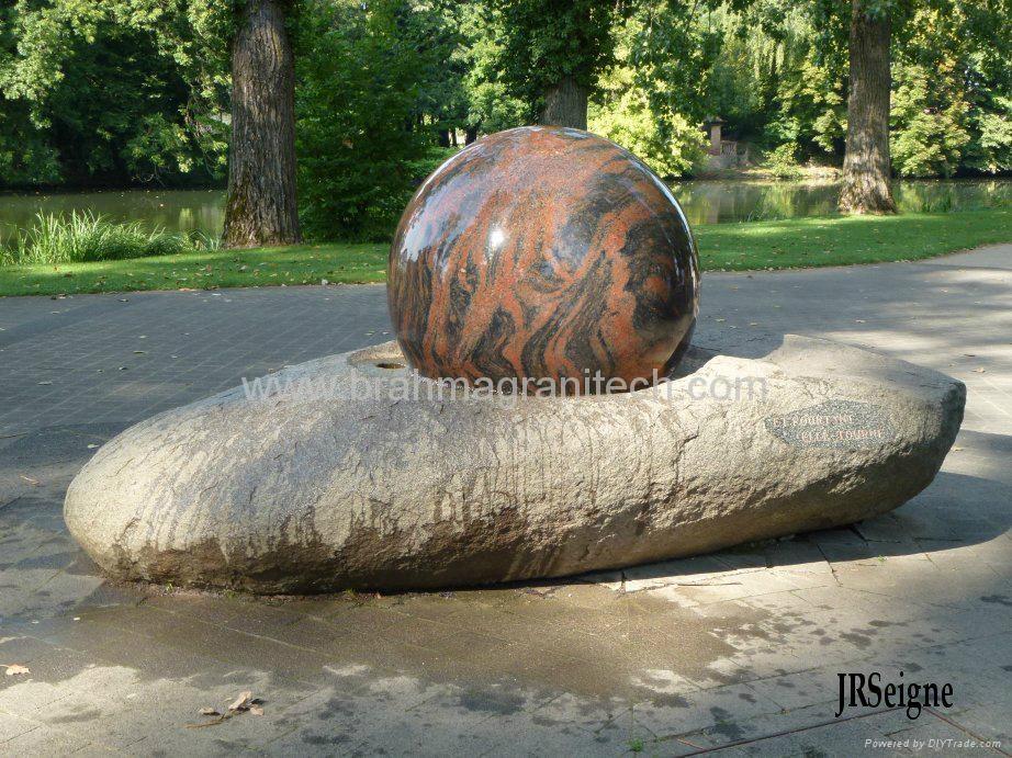 natural stone balls,granite stone spheres,granite spheres 6