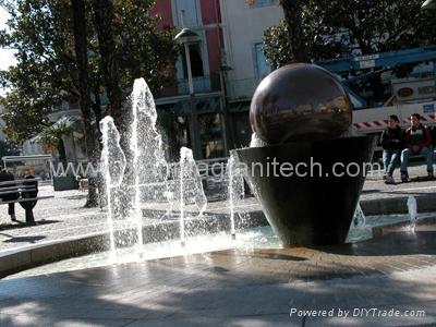Sphere Bollards,stone balls,stone Bollards globes 3