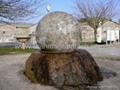 Sphere Bollards,stone balls,stone Bollards globes 4