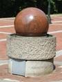 Sphere Bollards,stone balls,stone Bollards globes 6