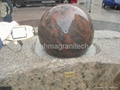 floating ball water features,stone water features  5