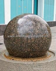 Floating spheres,rolling spheres,rotating spheres,spinning spheres