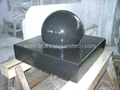 Floating Stone Sphere Fountain,rotating ball fountain 1