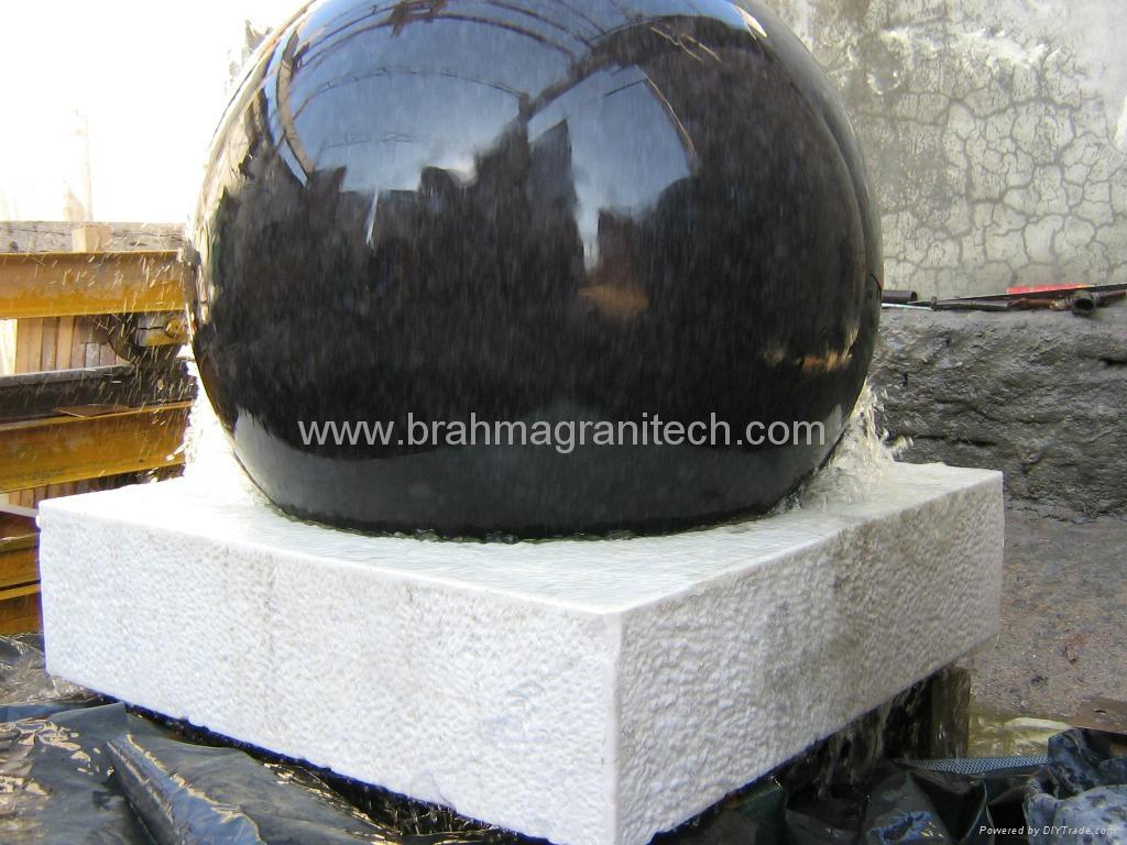 Sphere Garden Fountain Garden Ball Fountain Garden