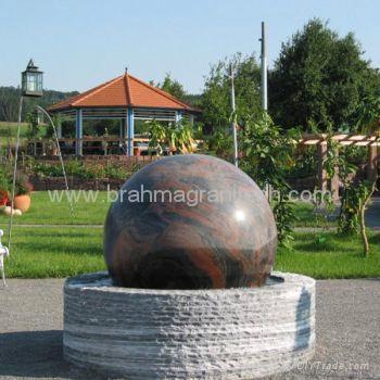 Granite Fountains,Ball fountain,Sphere fountain 1
