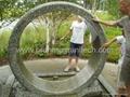 Rolling wheel water features,garden water feature 4