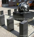 granite ball,spinning ball fountain