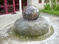 fontana del globo,granite spheres