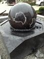kugelbrunnen mit drehender kugel 2