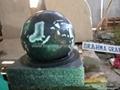 spherical ball fountains,granite globe fountain  2