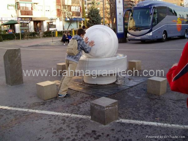 water ball feature
