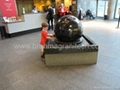 slate stone ball fountain ,Granite water feature,stone water feature 4