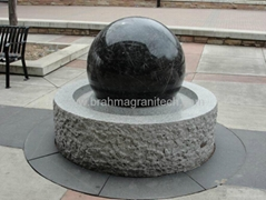 slate stone ball fountain ,Granite water feature,stone water feature