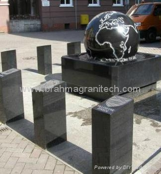 outdoor sphere water fountains,ball fountain 3