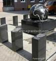 sphere water sculpture