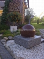 outdoor sphere water fountains,ball fountain 4
