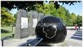 marble ball fountain
