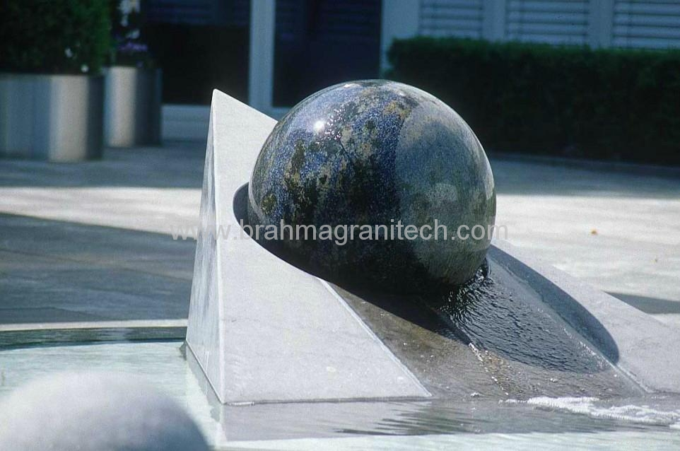 swimming ball fountains ,rotating ball water fountain 4