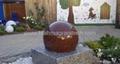 swimming ball fountains ,rotating ball water fountain 5