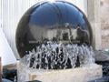 black kugel fountain
