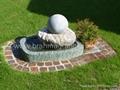 granite landscaping balls,landscape sphere 3