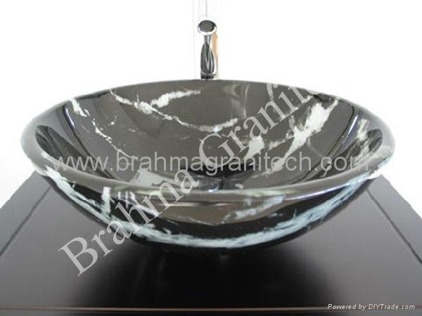 marmeren wastafel and stenen spoelbak 4